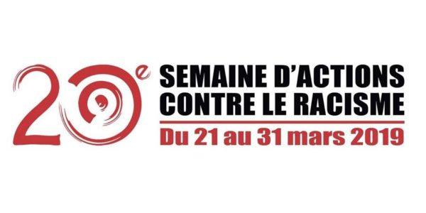 Semaine d'action contre le racisme, du 21 au 31 mars 2019