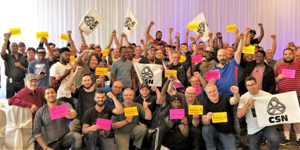 Solidarité avec le syndicat des travailleurs de Numesh inc. !